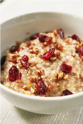 Slow Cooker Orange-Cranberry Steel Cut Oats