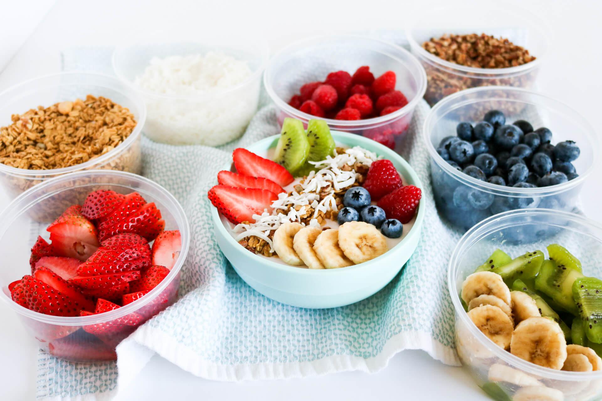 Yogurt Smoothie Bowls